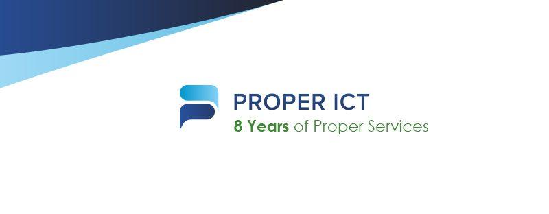 PROPER ICT turns 8